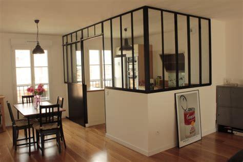 porte de cuisine coulissante verrière de cuisine avec porte coulissante verrières d 39 intérieur ghislain antiques