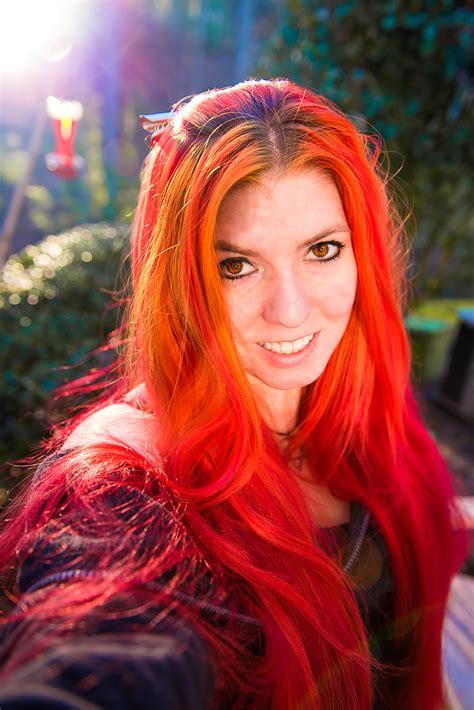 rainbow hair multi colored hair manic panic dye hard