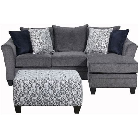 Simmons Upholstery Albany Sofa Chaise Jet Com