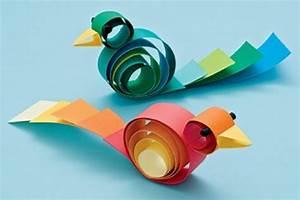 Vögel Basteln Zum Aufhängen : 100 einfache bastelideen super bilder ~ A.2002-acura-tl-radio.info Haus und Dekorationen