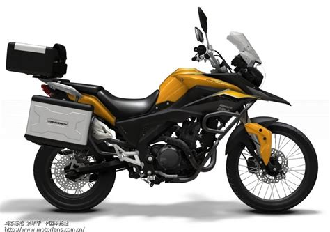 Zongshen Rx3, The Baby Adventure Motorcycle