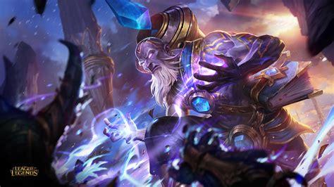 Triumphant Ryze League Of Legends Wallpaper HD League Of ...