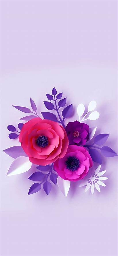 Iphone Flower Backgrounds Purple Flowers Floral Wallpapers