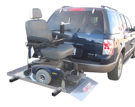wheel chair and scooter carriers magnetatrailers