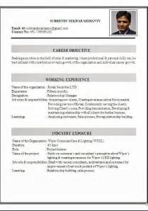 resume for architects in india architect cv sle