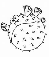 Fish Coloring Template Nemo Puffer Printable Funny Slippery Colouring Clown Jellyfish Fishing Rainbow Printables Koi Sheet Sheets Adults Boat Nature sketch template