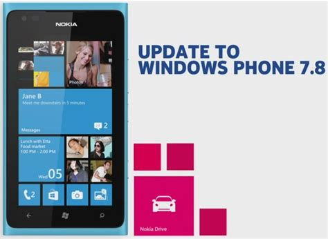 wp 7 8 update starts hitting lumia 900 800 710