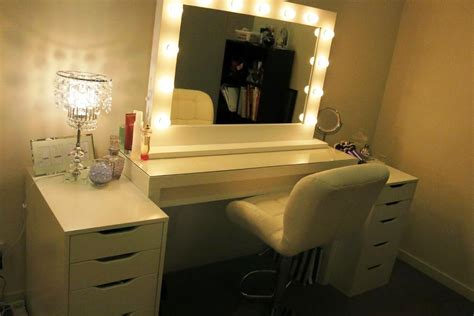 makeup vanity with lights ikea best vanity mirror with lights ikea home decor ikea
