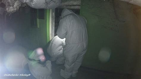 By joe mcfarlane an avid explorer headed down into the dark radioactive depths of the abandoned chernobyl hospital in a very creepy video. The Basement in hospital-126. Hell room in Pripyat