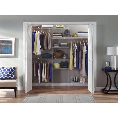 closet organizer kit storage wardrobe hanger rack