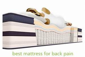 best mattress for back pain ibestmarts With best mattress topper for bad back