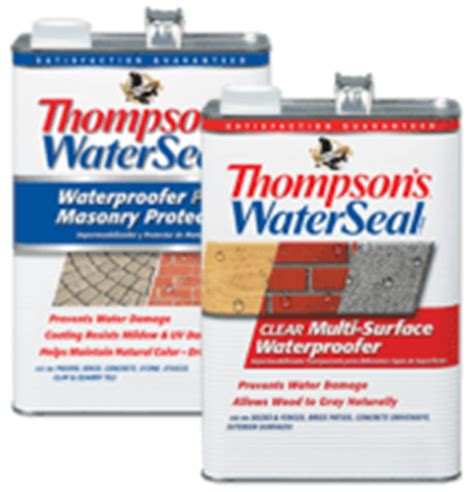 Thompson's Wood Sealer With Uv Protection