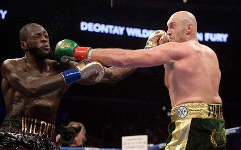 Deontay Wilder vs Tyson Fury