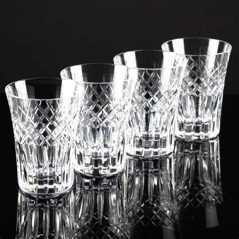 Wasserglaser Kristall by 4 Hochwertige Vintage Becher Wassergl 228 Ser Kristall Gl 228 Ser