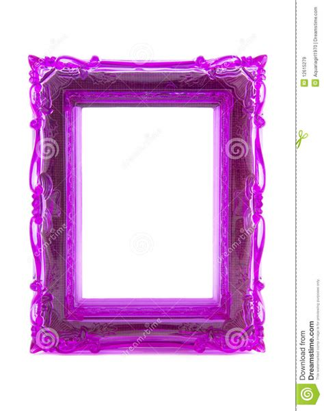 purple ornament frame stock image image  gallery space