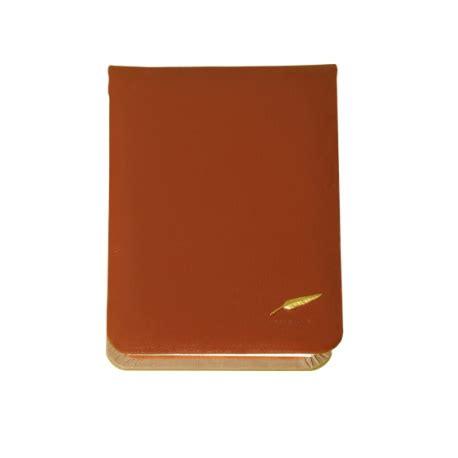 bloc note bureau bloc note de bureau en cuir gamme personnalisable