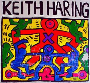 Keith Haring Graffiti Artwork || Graffiti Tutorial
