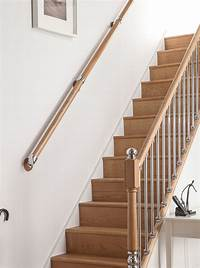 wall mounted handrail AXXYS Wall Mounted Handrail Kit 4000mm | Blueprint Joinery