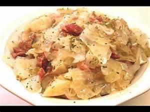 Fried Cabbage I Heart Recipes Doovi