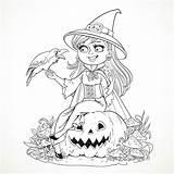 Colorare Halloween Disegni Adulti sketch template