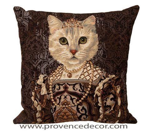 cat queen isabel de bourbon european belgian gobelin