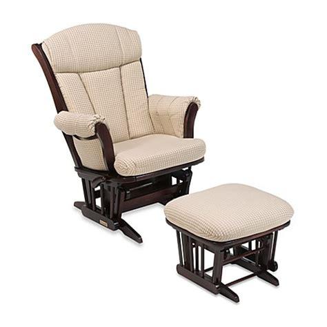 dutailier glider rocker and ottoman dutailier multiposition reclining sleigh glider and