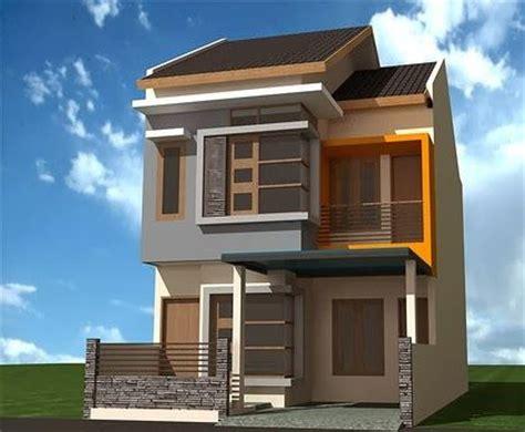 desain rumah    dua lantai contoh sur