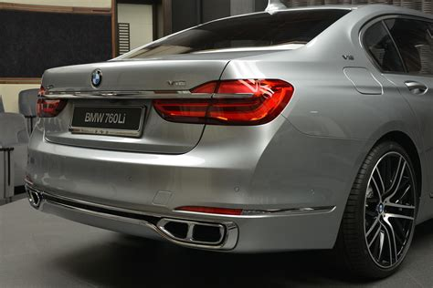 Posh Bmw 760li Xdrive V12 'excellence' Is An M Performance