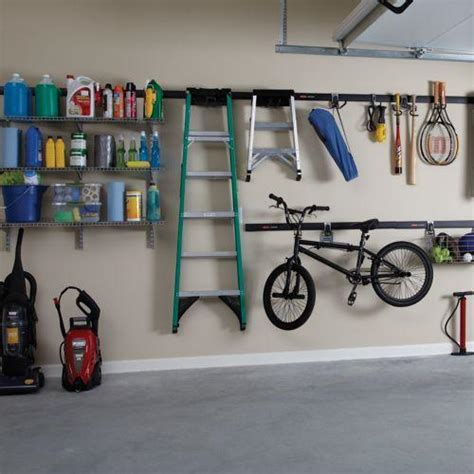 rubbermaid garage storage system view larger