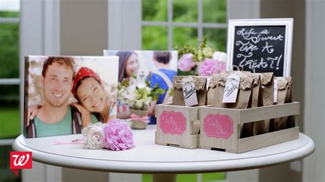 diy bridal shower ideas walgreens