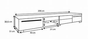 Meuble Tv Hauteur 90 Cm : meuble tv h 60 cm mobilier design d coration d 39 int rieur ~ Farleysfitness.com Idées de Décoration