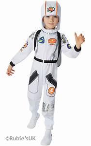 Astronaut Boys Fancy Dress Space Man Suit NASA Uniform Kid ...