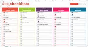 Checklist Template Excel Cheery Checklists Excel Template Savvy Spreadsheets