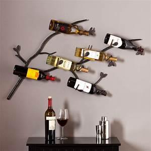 Brisbane, Wall, Mount, Wine, Rack