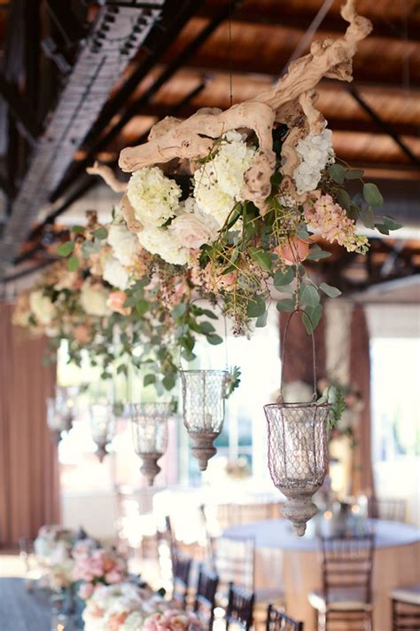 hanging floral centerpieces beautiful and stylish wedding hanging decorations