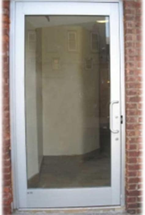 glass  aluminum doors personnel doors doors
