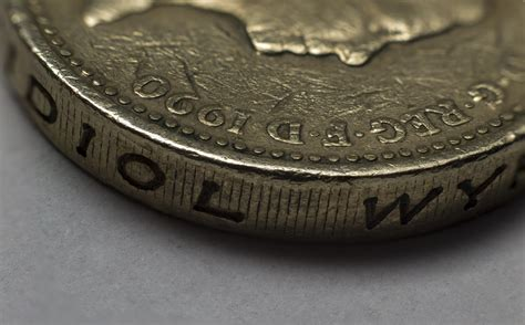 pound coin macro stacked  wasted  deviantart