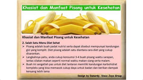 119 Manfaat Dan Khasiat khasiat dan manfaat pisang untuk kesehatan
