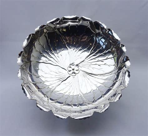 victorian silver plated bowl  hukin heath showpiece