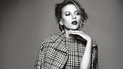 Scarlett Johansson 4k Celebrities Monochrome Actress Wallpapers