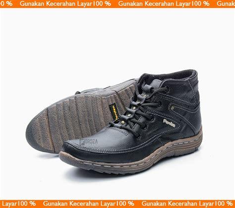 jual sepatu boot pria boot casual boot kulit asli