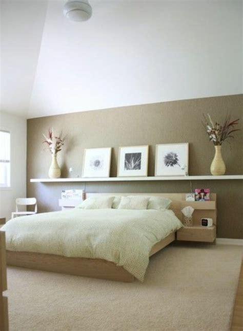 idee peinture chambre adulte décorer un pan de mur avec nos idées en 42 photos