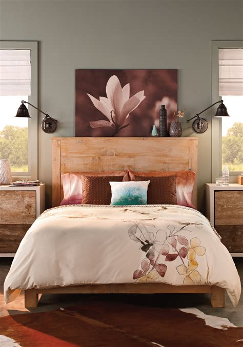 bedroom rooms spaces inspirations bedrooms rustic bedroom design bedroom decor behr