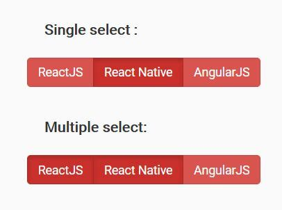 jquery plugin  easy select button group ui choose
