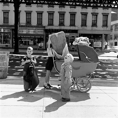 The Nearly Lost 1950s Street Photos Of Nyc And Chicago By