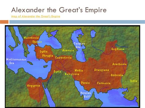 The Great Empire by The Great And The Hellenistic Culture Ppt