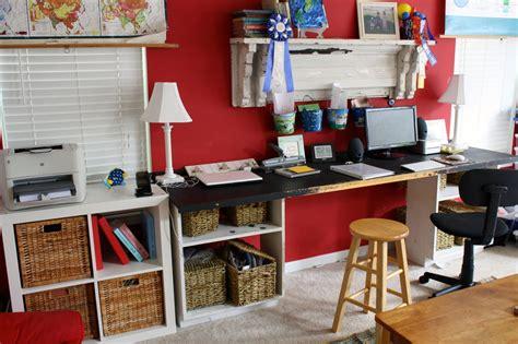 homeschool desk ideas chalkboard desk homeschool room hodgepodge