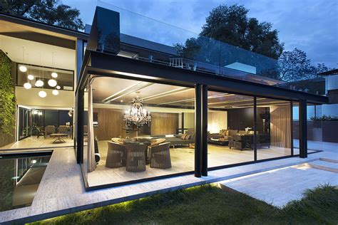 house pla glass and steel home modern house designs