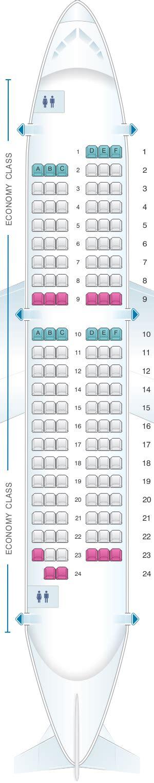 plan siege air plan de cabine air airbus a318 metropolitan