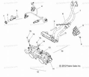 Polaris Snowmobile 2013 Oem Parts Diagram For Fuel System